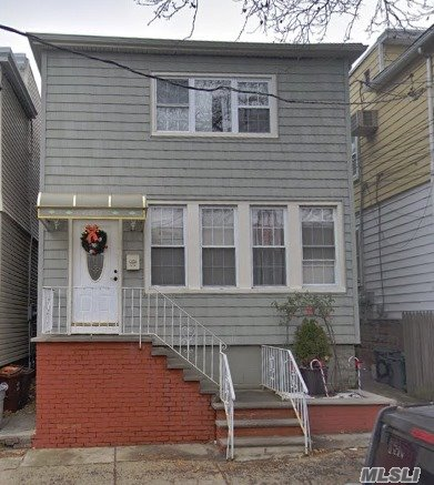 Beautiful 3 BR Apartment in the 1st Fl, exit to backyard. Heat and Water included; new kitchen, new bathroom. **All Information Deemed Reliable Must Be Re-Verified By Tenant(s)**