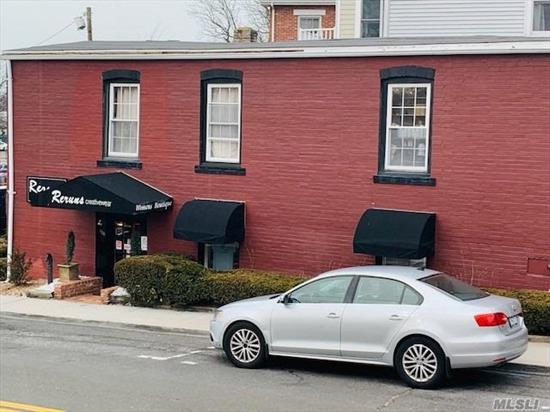 950 Sq Foot Retail Space n the Heart of Port Jefferson Village, Plenty of Parking as well as very well know LOCATION. Landlord pays Water and Garbage, 2 Year Minimum Lease.
