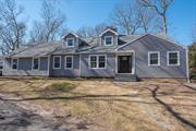 This Home has been totally gutted and completely Refurbished , Roof, Gutters, Leaders , Siding, Windows, Kitchen, Appliances , Counter Tops , Island,  Baths , Finished Basement w OSE, Custom Finishes Thru the entire Home Driveway and Landscaping will be new. Over 5000 Sq Ft on a Corner Property 4 Bedrooms, 4.5 Baths minutes from the Golf Course and Private Beaches and Restaurants. Still Under Construction w very little to do,