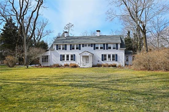 Rare opportunity to own an 1830's Remsenburg traditional! Situated on 1.3 acres this home exudes charm and character. Offering 2800 sf. of living space that includes, large kitchen, two living rooms, formal dining room, 5 bedrooms, 3 full baths and powder room. Enjoy Hamptons summers in the manicured backyard with in-ground gunite pool, pool house with full bath and patio for outdoor dining.