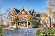 Own a Piece of Architectural History Set Up High on Hill Overlooking Stony Brook Harbor. Welcome to the Wetherill Estate. Built in 1895 by Famous Architect Stanford White, Who Built the Rose Clift Manor in Newport, RI and Architectural Gems like The Washington Square Arch in Manhattan. This Estate Offers Breathtaking Views of the Harbor. This Estate Has 16 Bedrooms, 6.5 Baths and is Situated on 3.75 Acres. Step Back in Time and Imagine Bringing This Glorious Home Back To Its Original Majesty!