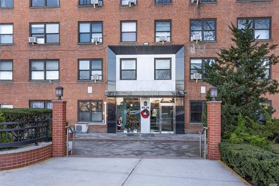 Beautifully renovated bright and sunny full 2 bedroom coop in Anita Terrace facing front of the building. All utilities included! Pets OK. Outdoor Parking available for $187.00 monthly. Featuring tastefully designed kitchen with stainless steel appliances and custom cabinets. Hardwood floors, Lots of closets. 24 hrs Security, Inside Building Gym, Laundry, Private playground. Minutes to Subway, Buses, Shopping area and much more! Won't Last!