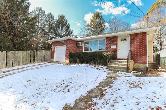 Commuters Dream! Do Not Miss This Great Opportunity To Customize This Brick Ranch In Bethpage. 3 Bedrooms, 1 Bathroom with a Full Basement!