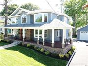 This may be the home you have been waiting for! New Construction located in the heart of East Williston 4 bedrooms 4.5 bathsg, master en suite,  Chefs gourmet kitchen with butlers pantry, coffered ceilings, custom moldings, laundry on 1st floor full finished basement with outside entrance and 9' ceilings Too much to list! Close to LIRR, pkwys, shopping and restaurants. Very desirable Wheatley School District.