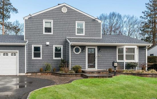 Exceptional opportunity in Albertson Downs with classic elegance throughout! This beautiful showcase home boasts a living room, formal dining room, custom designed kitchen with quartz countertops and Wolf chef oven and hood, den with gas fireplace. The home features 4 bedrooms with 2.5 baths, and plenty of storage throughout. New siding, windows, roof, heating/ac system.