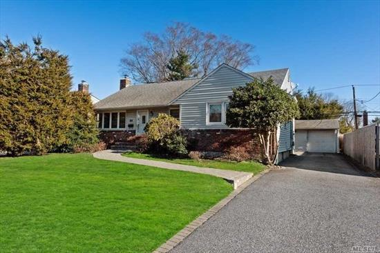 Nice 3 Br Ranch in Sought After Community Of Syosset Woods. Waiting For New Owner To Add Their Personal Touches. Home Is Perfect Mid Block Location. It Has Hardwood Floors CAC And Updated Electric. Huge Basement Newer Washer And Dryer. Large Peaceful Yd Oversized Detached Garage. Taxes $13, 208 w Star. Come Make This House Your New Home