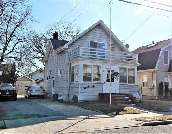 Priced To Sell, This Charming 3 Bedroom Colonial With Private Yard, Full Basement & 1 Car Detached Garage. Mid Block Location In Heart Of Oceanside Out Of Flood Zone.