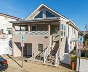 East Atlantic Beach! Beach Block w/Private Resident Beach! Owner's Pride & Joy: 6 Rooms, 3 Bedrooms, 2.5 Baths, Living Room w/Cathedral Ceiling, 2 Skylights, Master Bedroom Suite (4 Fixture Bath) w/2 Large Cedar Closets, Den or Family Room, CAC, Hardwood Floors, Front and Side Porches, Laundry Room, Storage Room, 1 Car Garage... Have the Fun of the West End & the Privacy of E.A.B!