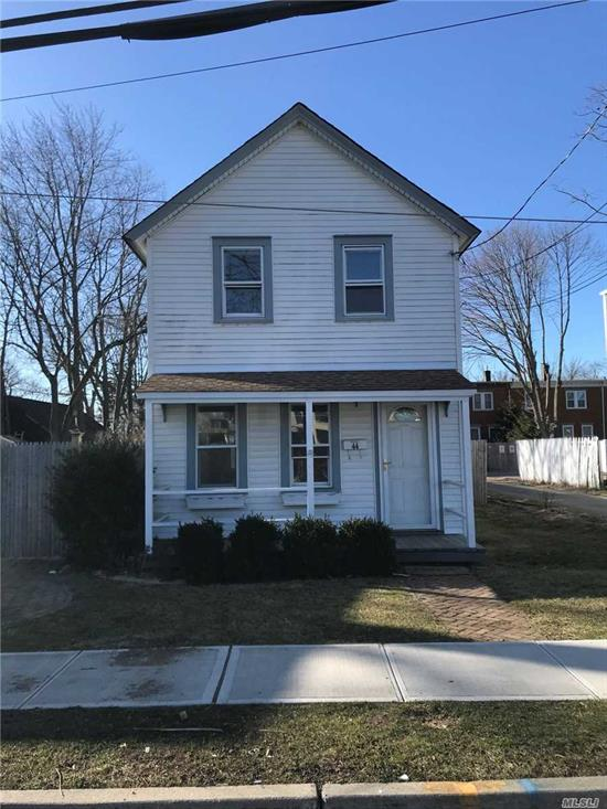 Full House Rental, Old World Charm in the Middle of Farmingdale Village, Close to Everything (LIRR, Shipping, Restaurants), Use of Huge Yard, Use of Driveway, New Full Bathroom, Updated Appliances, New Carpets
