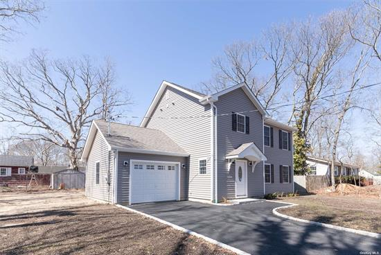 New Custom Home to be built (2020). Brand new 3-bedroom Colonial with Eat-in-Kitchen with Appliances, Dining Room, 2 Bathrooms, Large Master Bedroom w/walk-in closet. Hardwood floors throughout. Finishing touches (paint color, molding...) can be chosen by buyer. Taxes to be determined by town.