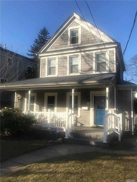 3 bedroom 1.5 bath. Finished Attic/ Finished Basement. Front Porch with Rear Deck. Recently Renovated with updated Central Air & Central Heat.