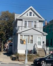 Newly Renovated 2 Family corner Property , Detached Frame House in South Ozone Park built in 1920 have 6 Bedrooms 3rd floor Duplex with 2nd floor. All appliances newly purchased. Fully Furnished Basement has seperate Laundry Room for each family.