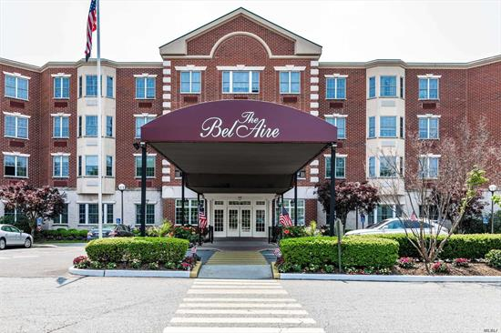 Turnkey, sparkling light filled 2 bedroom, 2 bath condo in the desired Bellaire community. Cook's kitchen with granite countertops, counter seating, stainless appliances, living room/dining room, master bedroom with large bath and walk-in closet, guest room/den. Hall bath, New flooring, freshly painted. 24 hour front desk/security, gym, large private party room, card room, laundry room on every level. Heated pool and so much more. A must see won't last.