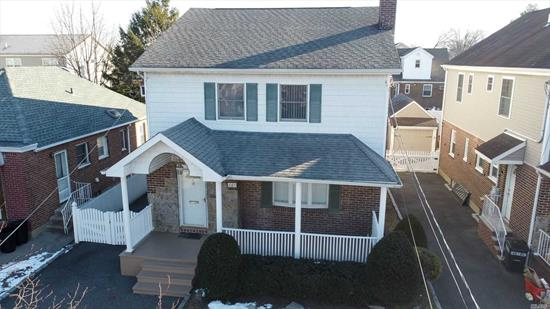 This Rare Large 4 Bedroom Colonial Located in the Rath Park Section of Franklin Square Boasts a Formal Dining Room, an Oversized Living Room, Full Finished Basement, and Paved Backyard. Close to Shopping and Schools. Sellers Starting Grieving Process for New Buyers.