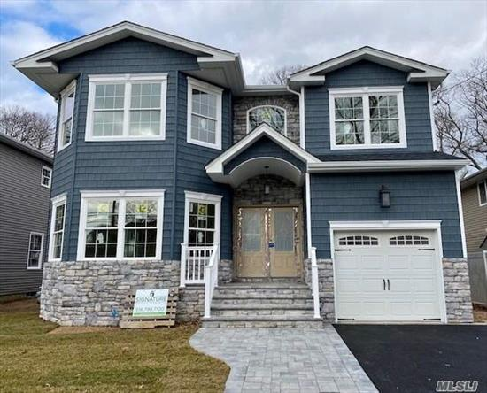 2 New Colonials Being Built On Deep Property Right next to each other and are currently up & under active construction! Brand new home is 98% completed and will be ready to close with new c/o by April 2020. Huge 4 Bdrm, 2.5 Bath Home W/ Bluestone Stoop, Paver W-Way, 1-Car Gar, & Full Basement. Comes Fully Loaded W/ Stunning Trim, Custom Kitchen & Vanities, Pella Window's, Prof. SS Appliances, Etc. No Amenities Spared. Top Notch Energy-Efficient New Construction.
