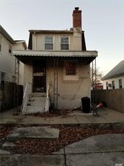 Needs TLC. Property Sold As-Is condition and all Violations. Cash or 203K only. Good for Investor or 1st Time Buyer.