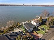 Waterfront Living. Get Ready For The Spectacular Sunsets! Mid Century Modern Home Is Anticipating New Owners For Gatherings & Creating Memories. Captivating Panoramic Water Views. Open Layout Perfect For Entertaining. Several Inviting Decks & Balconies Flowing off the Living & Dining Rooms, Den & Master Bedroom. Stairs from the House Lead To A Private Cove. Harbor Hills Village Waterfront Pool Club & Tennis Courts. Saddle Rock Elementary , Great Neck North Middle & High School.