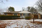 Cozy Ranch Nestled On 1/2 Level Acre In Harborfields School District. Home Features Large Anderson Windows, Hardwood Floors, New Roof, Poured Foundation, CAC, 200 AMP Electric & Full Basement w/ High Ceilings. Gas in the Street. This Home Has Endless Possibilities And Is Awaiting Your Personal Touch. Not To Be Missed!