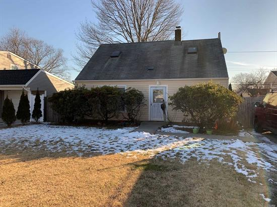 Great Opportunity, 4 Br, Cape, Lr, Kitchen. House needs work Short Sale Sold As Is