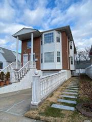 Beautiful Brick Two Family In The Heart Of Little Neck. 3 Br 2Full Bath Over 3 Br And 2 Bath With Finished Walk-in Full Basement. Sept Entrance. Attached Garage. Close to School, Ps 221 and Ms 67, Close to Bus And Supermarket.