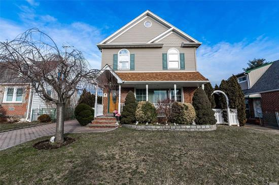 Retro Style Colonial with Beautiful Open Floor Plan..Master Suite with spa bath. FDR, French Doors, Anderson Windows, AGP. Deck with Pavers. Many updates in this beautiful home.