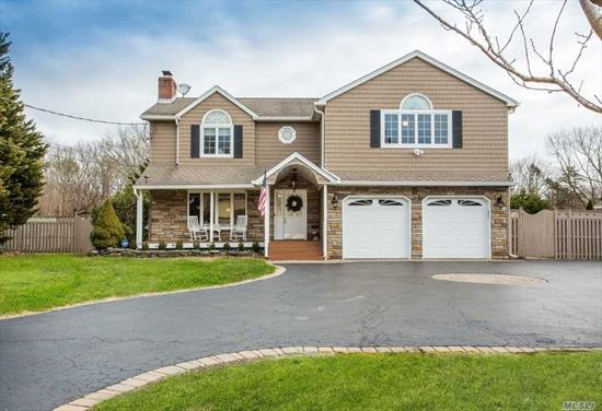 Back on Market! Beautiful 5 BR Colonial w/ Entertainers Yard on Flat Acre. Great Driveway for 4 cars. Enter home to quaint living room with cozy fireplace. Beyond that is an office/5th BR. Step into brand new dream kitchen (2017) w/ high end appliances & picture window overlooking pool! Kitchen open to great room w/ 2nd fireplace & soaring ceilings. FDR open to den. True MBR w/ En Suite! Basement has summer kitchen & OSE. Beautiful Yard w/ IG Pool, Liner 2 yrs. Andersen Windows. Roof 10 Yrs, 200 Amp