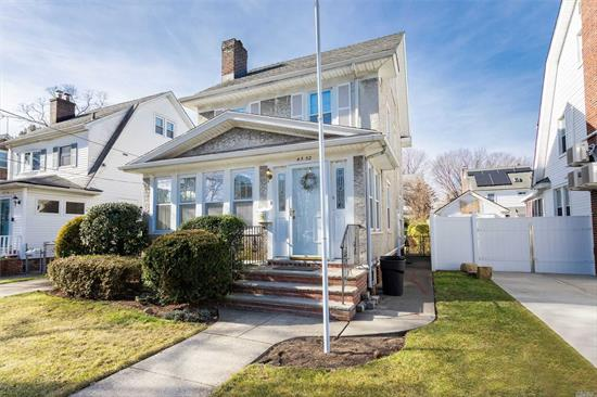 Beautifully Maintained 4 BR Colonial Conveniently Located Near All. Don't Let This Opportunity Pass You By. This Home Boasts 4 BR, Family Room, Formal Dining Room And Formal Living Room With Fireplace.Beautiful HW floors Detached Oversized Garage And Beautiful Yard and Grounds. Make This Your Forever Home.