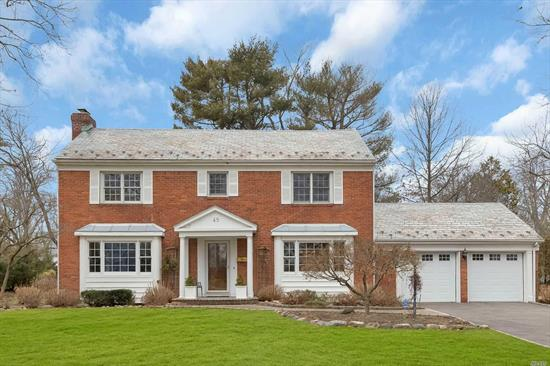 All brick elegant CHC on a beautiful lot in a private sought after section in MP. Lg elegant formal rooms, Family room w/fp open to kitchen breakfast area, 4 large bedrooms oversized windows- all bright and airy. Close to schools, Americana, Whole Foods, and highways.