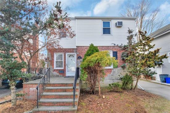 Updated Brick Colonial. Updated Kitchen with quartz counters & stainless appliances. Updated baths, Roof 5 Years old, New Hardwood Floors thru out. Great size den. Move in Ready