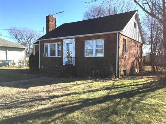 Property Lovers delight!4BR, 2BATH, Brick Ranch on 80x170 property in sd# 22.LR with fireplace , Formal dining room.House sold ' AS IS'.Needs updating.