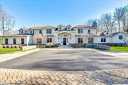 6 Harriman Drive is an architectural gem in the prestigious Village of Sands Point. Situated on 2+ acres of park-like property, this beautiful New England style colonial features a private driveway, in-ground pool, Har-Tru tennis court, multiple outdoor entertaining areas and more.