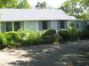 Charming Cottage, Entrance Hall, Great Living Room w/Cathedral Ceilings, DA, EIK, 2 Baths, 1 BRm Fabulous Terrace and Gardens.