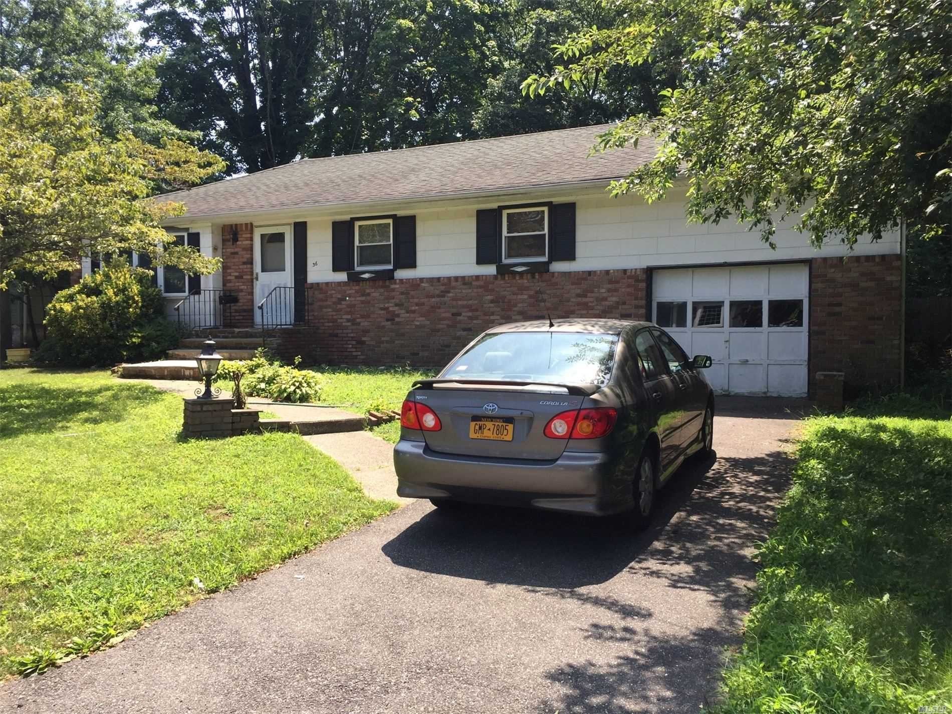 Location, Location, Location! 3 Br Wide Line Ranch on a Private Cul-de-sac with 1/4 Acre Deep Property (72x151). Formal Dr. Updated Kitchen & Bath. Hardwood Floors. Wide & Deep Garage. Huge Basement w/Separate entrance, just needs a Painting.