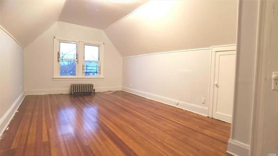 Very Bright And Spacious. South Bound 1 Br Unit. Heating Is Included. Wooden Floors. Close To Shopping, Transportation, Restaurants, Schools, House Of Worship And Many More.