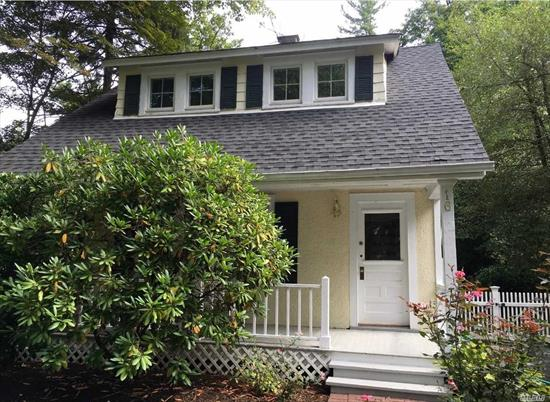 Enchanting Lattingtown Cottage. Beautifully Renovated. Granny Porch. Brick Patio. Gardens. New Kitchen with Marble Counter Tops and Appl. New Bath with High End Fixtures. Wood Floors. Cac. Crown Moldings. Beach/ Golf Rights.
