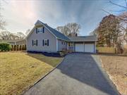 House has undergone a total transformation! Move right in to this renovated Farm Ranch style home with new kitchen, bathrooms, flooring throughout, fresh paint, siding, roof & driveway. Beautiful inside and out. Centrally located to all. It's an opportunity not to be passed up.