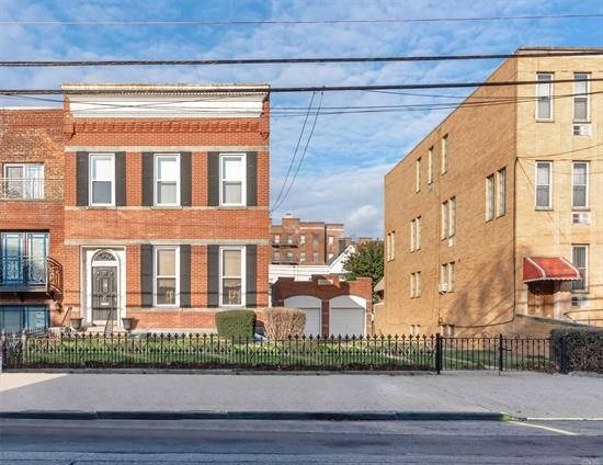 Prime Development Site Situated in The Broadway Area of Astoria. 31-18/20 30 Street is a 50?100.83 Lot With a Desirable R6B Zoning: 2.0 FAR. A Rare Opportunity to Construct 10, 000 Sq Ft of Residential Space On a Double Lot in One of The Most Sought After Areas In Astoria. Conveniently Located One Block To The Broadway N/W Train Station, Restaurants, Shopping and Nightlife. Home Is Currently Being Used As A Single Family. Please Consult With Your Architect On Build Out Possibilities.