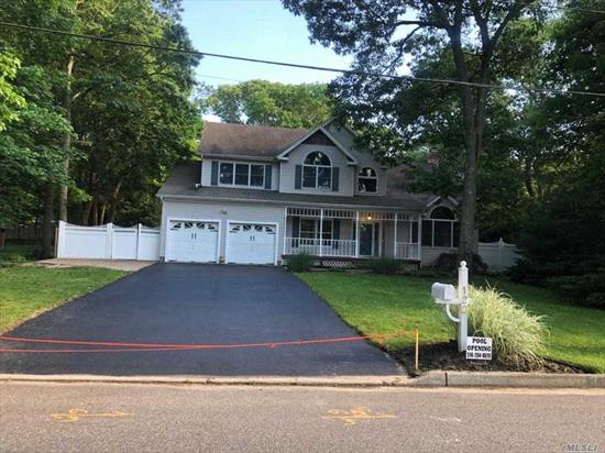 Beautiful large recently Renovated Colonial with 5 bedrooms and 3.5 baths Spacious area that includes a large island for family gatherings, leading to the formal Dinning area. Refinished Hardwood floors throughout the house.