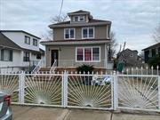 Newly renovated beautiful one family house with 4 Bedrooms and 2 baths in quiet and charming area of Baywater in eastern Far Rockaway, close to Lawrence and Five Towns. Minutes from shopping centers, Subway and schools. Charming fire place, full attic, unfinished basement. Large lot with Pvt driveway and garage.