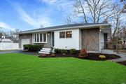 Ultra High End Complete Modern Renovation Of Classic S. Huntington 3 Bedroom 2 Bath Home. Design And Detail Abound With Vaulted Ceilings, Stunning Kitchen, Oak Floors, Elegant Baths With Custom Tile Work, Beautiful Fully Finished Basement With Additional Flex Room/Office Space, LED Lighting Throughout, Central Air, Ample Closet Space, All On Flat .25 Acre Lot. A Rare And Special Offering For The Discerning Buyer.