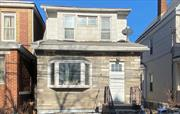 Detached Colonial w/3 Brs, 1Bth on 25x100 lot. Walk up attic & basement. Needs TLC. SOLD AS IS.