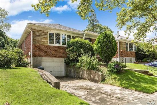 Raised Ranch In Beautiful Neighborhood. Street-Level Walk-In Basement.Eat-In-Kitchen. Hardwood Floor Spacious And Brightly-Lit Living Room, 3 Bedrooms & 2 Half Baths. CAC School District #26 (Ps 221, Jhs 67 And Cardozo Hs). Easy Exit To Mayor Hwy
