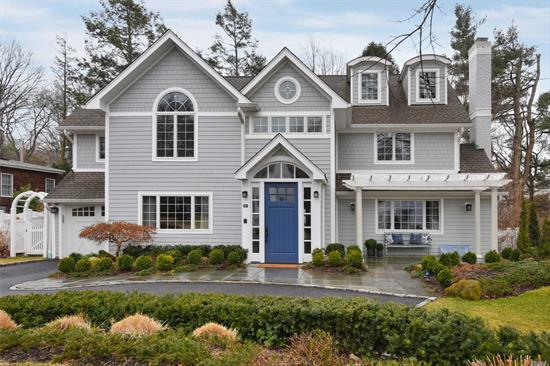 This is a house designed with connections in mind: inhabitants and visitors, a floor plan effortlessly connecting one room to another. Completely reimagined and redone in 2015, outside and in, top to bottom. Every desired feature, upgrade and amenity. Ideally located just .5 miles to the LIRR and the center of Main Street.