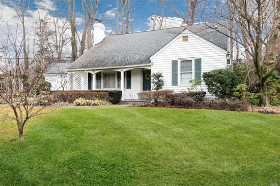 Spacious & sunny well appointed 2-story Beacon Hill Farm Ranch w/ full basement. Lot size 12, 320 sf - 5 brs, master bed optional on 1st or 2nd floor-2 full baths. Large lot w/front porch, large LR w/ wood-burning fpl & built-ins, FDR, spacious EIK, 2 brs and a full bath complete the 1st floor. 2nd fl boasts a large MB and full bath, 2 addt'l brs, full basement, gas cooking, Full Generator, 1-car att garage, Priv driveway, Beach, tennis & mooring rights. Close to town, train, schools