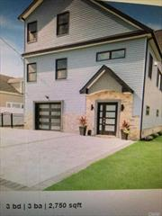 New contemporary FEMA compliant home on corner lot. First floor master w/bath. 2 bedrooms upstairs w/Jack & Jill bath. GE Caf? appliances in kitchen. 3-face fireplace in living room. Hardwood & porcelain floor w/radiant heat. CAC. Security system. Trek Composite deck w/gas barbeque. In-ground sprinklers. Room for pool