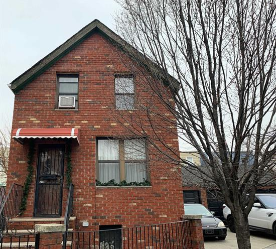 One of Kind! All brick detached home on a quiet street in desirable LIC/Astoria. 3 car garage with parking for another 3 cars in front of garages. 3 bedroom home is a great place for family, close to schools, places of worship, shopping, transportation to almost anywhere and some of the best eateries in NYC.