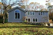 Lovely, Spacious Colonial in Three Village SD, Granite Eik, Fireplace, Bright Open Concept, Full bath w/ whirlpool tub and sep. shower, Radiant heated flrs in Liv Rm, & Kitchen, Oversized 2 car garage, Landlord will maintain lawn care, Tenant responsible for snow removal and utilities,