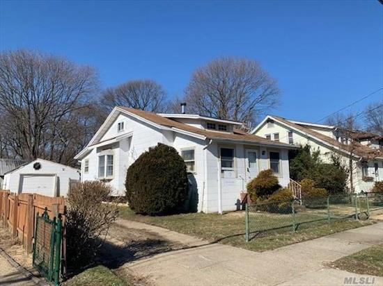 Bungalow Style Home. This Home Features 3 Bedrooms, Full Bath, Dining Room, Eat In Kitchen & 1 Car Garage. Centrally Located To All. Don't Miss This Opportunity!