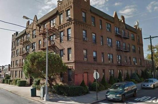 Beautiful Apartment in Pre-War Building for Rent. Features Living/Dining Room Combo, Eat-In-Kitchen, Spacious Bedroom and 1 Full Bath. Heat And Water Included. Conveniently Located Near Shopping & Transportation.