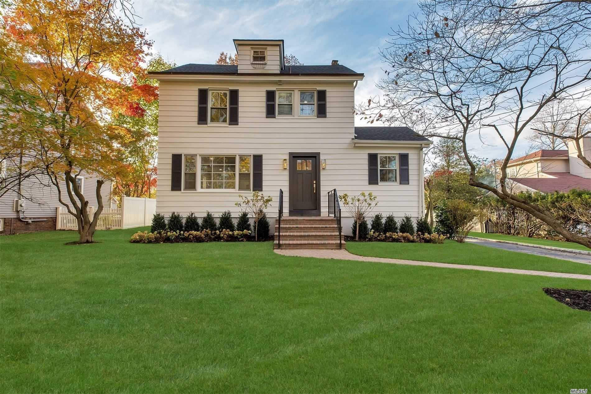 Welcome home....offers all the sophistication of city living, set on private pristine Country property. Lavish lifestyle awaits you Near all, including LIRR, Vibrant Village beaches and GOLF....get your clubs ready! Pool parties are in YOUR future.